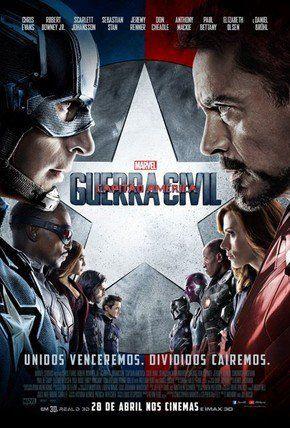 Capitão América: Guerra Civil, via Filmow
