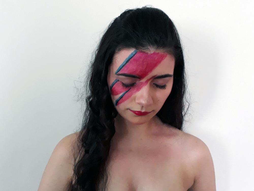 Maquiagens facinhas para o carnaval: Ziggy Stardust