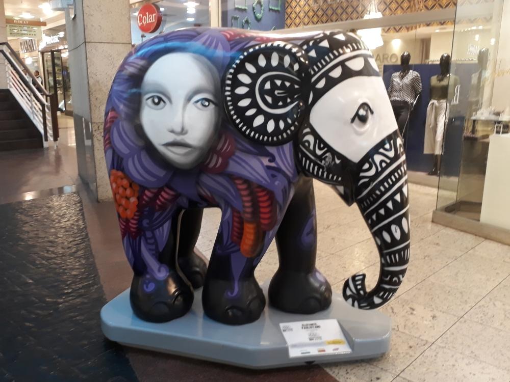 Elephant Parade em Belo Horizonte