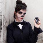 Maquiagem Zomby Gaga   Halloween
